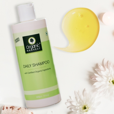 Organic Harvest Daily Shampoo, 500gm