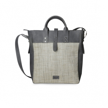 Jute Mini Tote Grey