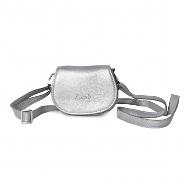 Mini Purse with Sling Silver