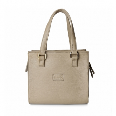Square Leather Handbag with Sling1