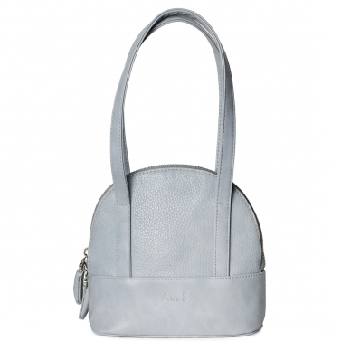Mini Structured Handbag Grey