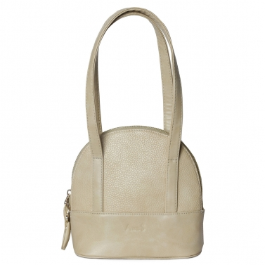 Mini Structured Handbag Fawn