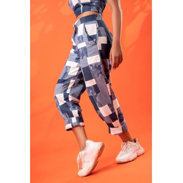 Denim Patchwork Co-ord Set