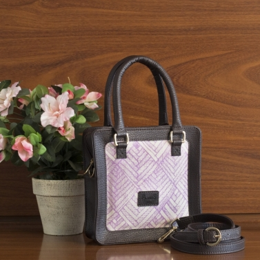 designer-womens-wear/square-canvas-satchel-blackcurrant