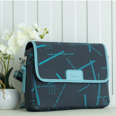 Canvas Satchel - Slate