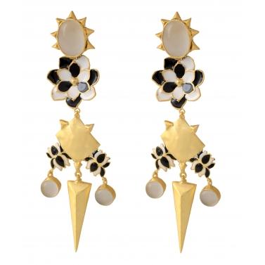 Belsis dangle earrings