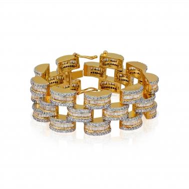 Dual Finish Bracelet