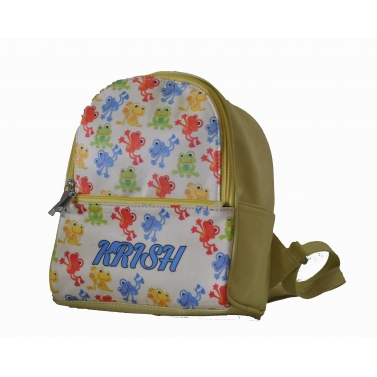 Froggy Backpack For Girls