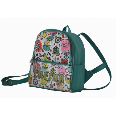 Grafitti Backpack For Girls