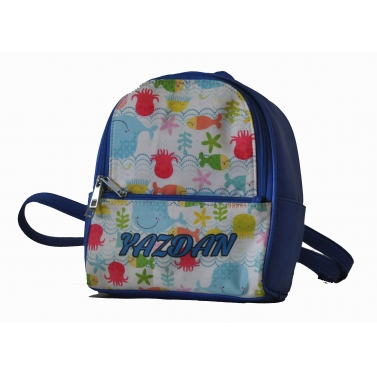 Fishie Backpack For Girls