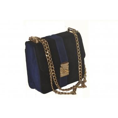 blue black sling