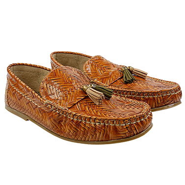 Tan-gled Loafers