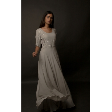 designer-womens-wear/steel-symphony-georgette-crepe-flared-gown