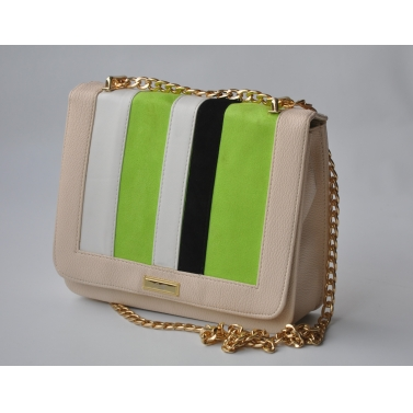 stripped sling green