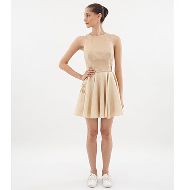 Short Pastel Dress