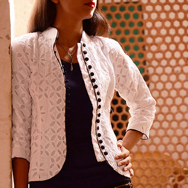 designer-womens-wear/designer-jackets-coats/white-applique-jacket