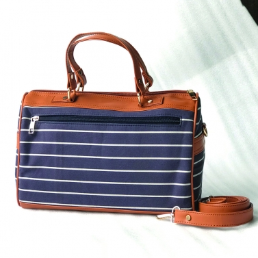 Single Striped Mini Duffle
