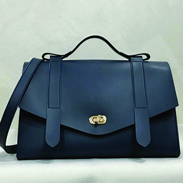The Ofice Satchel (Black)