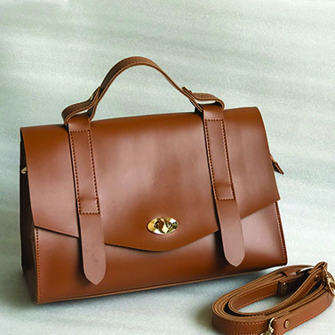 The Ofice Satchel(Tan)