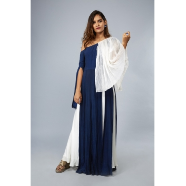 designer-womens-wear/off-shoulder-panel-drape