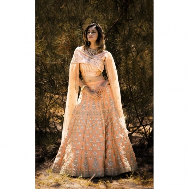 designer-womens-wear/peach-glam-bridal-lehanga