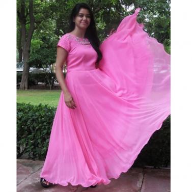 designer-womens-wear/pink-florescent-floral-dress